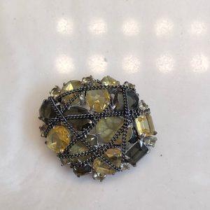 Jeweled brooch
